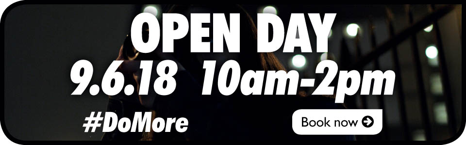Open Day Banner - June 9th 2018