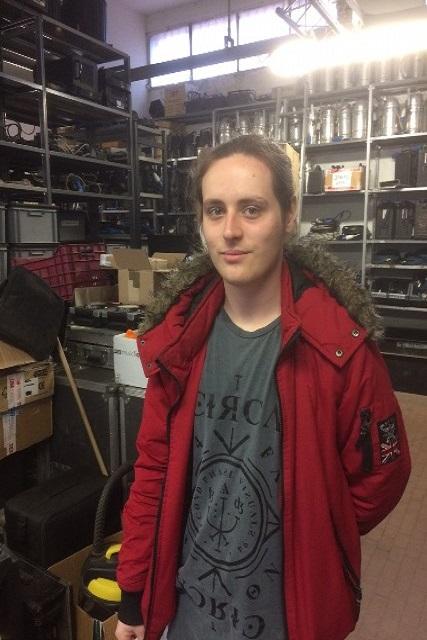 Games Design student Bradley Clay-Bellingham