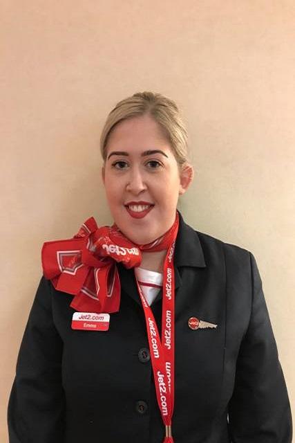 Former Travel student Emma Morgan