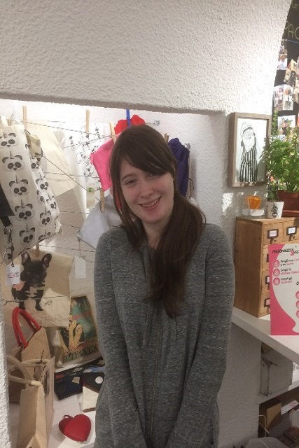 Art and Design student Sophie Purchase