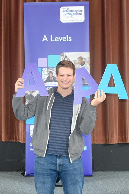 A Level Student Alek Vidanovic