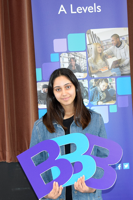 A Level Student Anisha Sahota