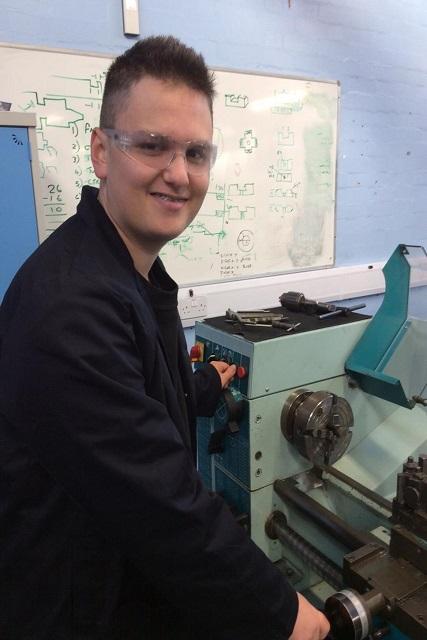Ben Hart - city of wolverhampton college engineering apprentice