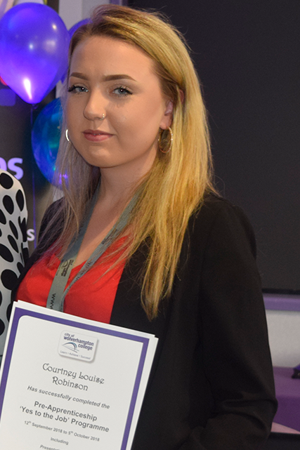 Business Admin Apprentice - Courtney Robinson
