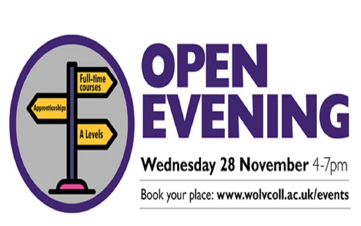 City of Wolverhampton College Open Evening 28 November