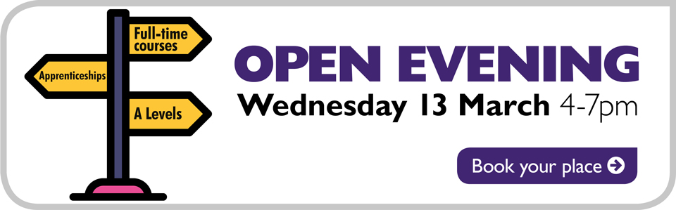 Open Evening - Wednesday 13 March 2019