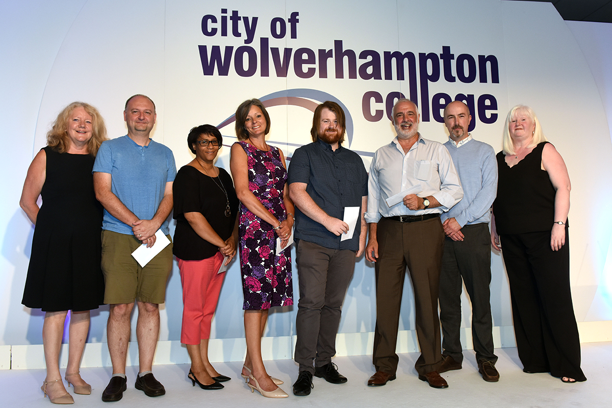Staff celebration Award - City of Wolverhampton College