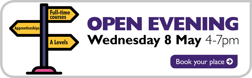 Open Evening - Wed 8 May