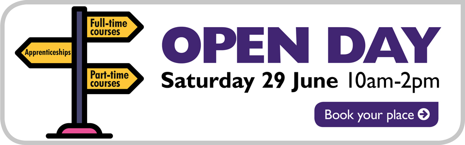 Open Day Sat 29 June 10am-2pm
