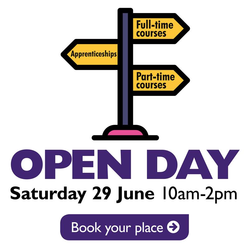 Open Day Sat 29 June 10am-2pm