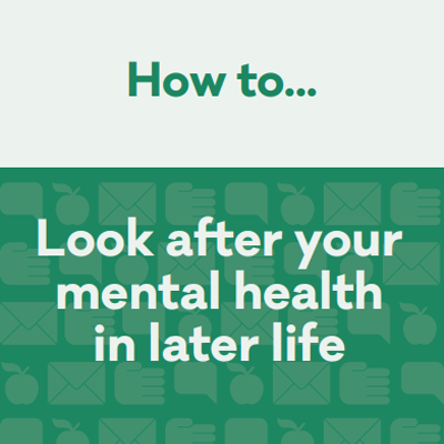 Support mental health in later life